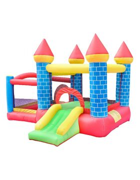 Myts Inflatable Bounce House Jumping Bouncy Castle House For Kids