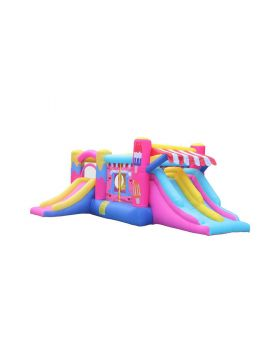 Myts Bouncer Inflatable For Kids Outdoor Backyard Party