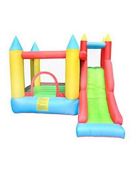 Myts Inflatable Bounce Slide Water Park Bouncy Castle House