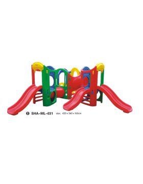 MYTS Mega Tri Kids Slides With Fun Play Area