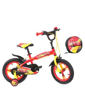 Spartan Disney Cars 3 Premium Bicycle with Free Bag