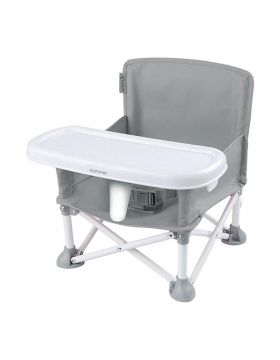 Summer Infant Pop 'N Sit Portable Booster Grey