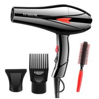Sunhome Professional Hair Care Hair Dryer Black Thre...