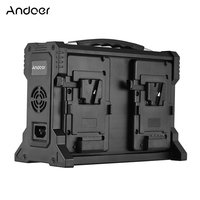 Andoer-Andoer AD-4KS 4-Channel Camcorder Battery Cha...