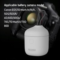 Docooler-TELESIN 3 In 1 Multifunctional Camera Batte...