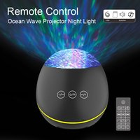 Lixada-Remote Control Ocean-Wave Projector Light wit...
