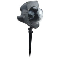 Lixada-Snowfall Flurries LED Light Snow Lamp Snowfla...