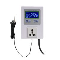 KKmoon-AC110-240V 10A LCD Digital Intelligent Pre-wi...
