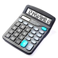 Aibecy-837B Desktop Electronic Calculator Standard F...