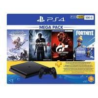 Sony PS4 500GB HZDUC4GT Fortnite 3M+ Extra controlle...