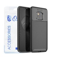 Ozone - Huawei Mate 20 Pro Mobile Cover Carbon Fiber...