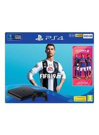 PlayStation 4 Slim 500GB Console With FIFA 19...