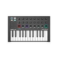 Arturia MiniLab Mk II Black Edition - 25-note USB Mi...