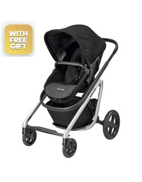 Maxi-Cosi Lila Stroller Nomad Black With Free Maxi-Cosi Cabriofix Car Seat