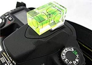 Two Axis Bubble Spirit Level with Hot Shoe Adapter for DSLR SLR Digital Camera
