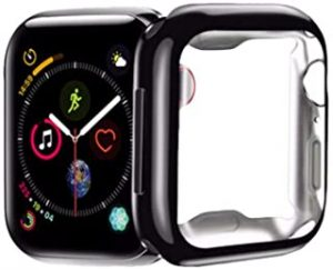 FOOKANN Full Coverage Screen Protector Cover for Apple Watch 44mm Series 5 / 4