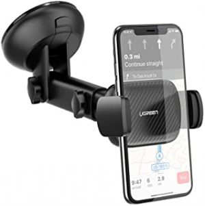 UGREEN Car Phone Mount Dashboard Car Holder Windshield Smartphone Cradle Strong Suction for iPhone 11 Pro Max Xs Max X XR 8 Plus 7 6 6S