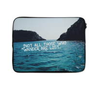 Loud Universe - Laptop Sleeve 15 inch Wander Lust Tr...
