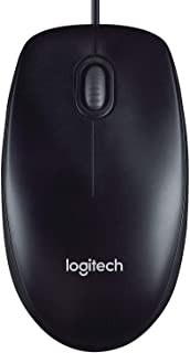 Logitech Wired Mouse M90 Black USB | 910-001793
