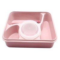 Generic - Lunch Box for Microwave Pink