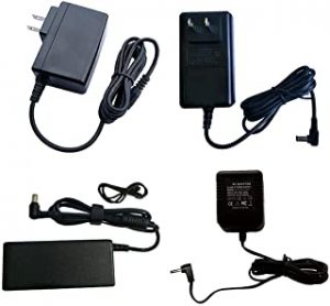 tecmac Original New AC/DC Adapter for Dell 24-3455 Reg Model: W12C Reg Type No: W12C001 DP/N: X342P A00 DPC All-in-One Desktop PC Genuine OEM Power Supply Cord Battery Charger Mains PSU