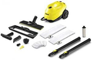 Karcher SC 3 Easyfix  Premium Chemical free Steam Cleaner with permanent refillable water tank non stop steam 3.5bar steam pressure 15131400
