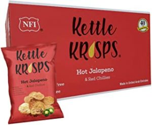 Kettle Krisps Hot Jalapeno & Red Chillies Chips