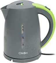 CLIKON - PLASTIC BODY STAINLESS STEEL CORDLESS ELECTRIC KETTLE