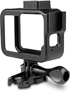 Ozone Aluminum Alloy Frame Mount for GoPro Hero 8 Black with Quick Pull Movable Socket and Screw Protective Shell Case Mount Accessories for Hero 8 Action Camera