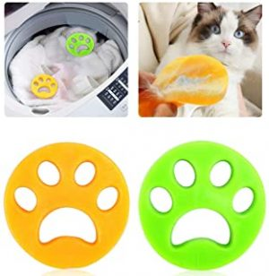 2 Pack Pet Hair Remover for Washing Machine Hair Catcher