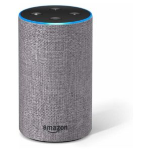 Amazon Echo (2nd generation) Heather Grey Fabric