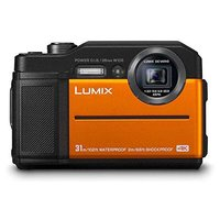 Panasonic Lumix DC-FT7EB-D 4K Waterproof Tough Actio...