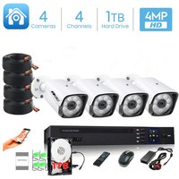 XBW - 4Channel CCTV security Kit 1080P/2.0MP 1920X10...