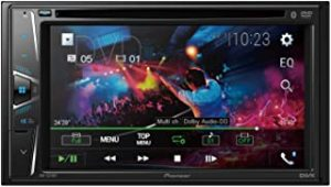 Pioneer Car Dvd 6.2 Inch Screen with Bluetooth
