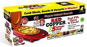 Red Copper 5 Minute Chef Electric Cooker