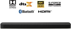 Sony 2.1ch 4K HDR Soundbar with Dolby Atmos and Built-in Subwoofer
