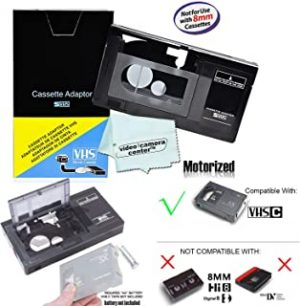 Motorized VHS-C Cassette Adapter For JVC C-P7U CP6BKU C-P6U
