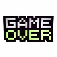 Paladone 8-Bit Pixel Game Over Light - Color Changin...