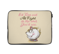 Loud Universe - Laptop Sleeve 12 inch Kettle Quote C...