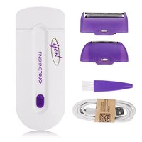 Carevas-Rechargeable Painless Touch Laser Epilator F...