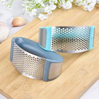 Decdeal - Stainless Steel Garlic Press Rocker Garlic...