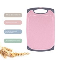 Decdeal - Kitchen Cutting Board Natural Wheat Straw ...