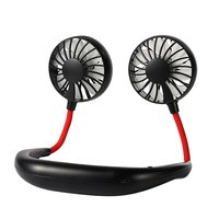 KKmoon - Portable Hanging Neck Fan Mini Portable USB...