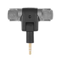 Esonmus-External Stereo Mic Microphone with 3.5mm to...