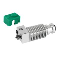 Aibecy-Heatsink Extruder Radiator with Collet Clip V...