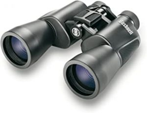 Bushnell Poweview All Purpose Binocular 132050 Pouch and Strap Included Bak-7 Porro Prisms