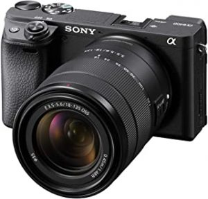 Sony Alpha 6400 Mirrorless Camera with 18-135mm OSS Lens