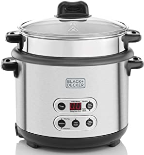 Black+Decker 3-in-1 Smart Cooker for Cooking Boiling and Steaming