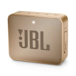 JBL GO 2 Portable Bluetooth Speaker Champagne