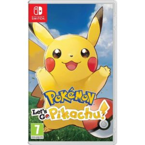 Nintendo Switch Pokemon Lets go Pikachu